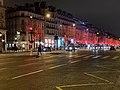 Avenue des Champs-Élysées de nuit en janvier 2020 et ses décorations de noël.jpg