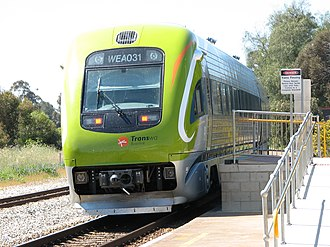 Transwa - AvonLink at Northam in October 2005