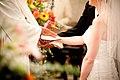 Bénédiction des époux lors d'un mariage.jpg