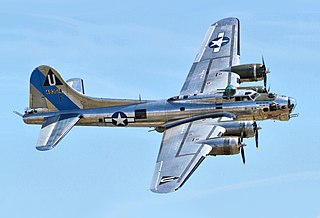 Boeing B-17 Flying Fortress US four engine bomber produced 1936–1945