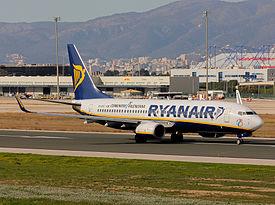 Ryanair aviones flota