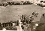 BA144 Ain-Arnat-Sétif Prise d-armes viste Weugand 1940.jpg