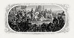 BEP vignette by Frederick Girsch of Powell's painting DeSoto Discovering the Mississippi