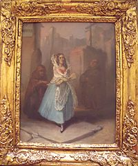 Woman with Mantilla