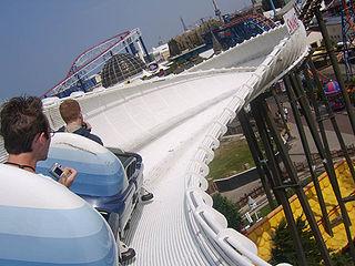Bobsled roller coaster