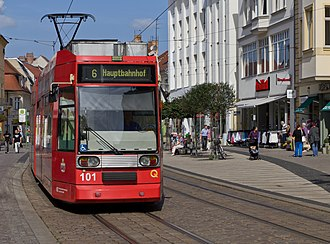 Brandenburg an der Havel - Tram in Brandenburg an der Havel