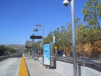 Santa Clara Valley Transportation Authority - King station along Rapid 522
