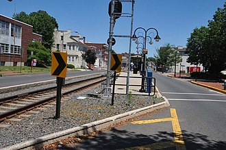 Burlington, New Jersey - River Line