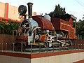 B class ^785 DHR locomotive plinthed outside Dehradun railway station - Flickr - Dr. Santulan Mahanta.jpg