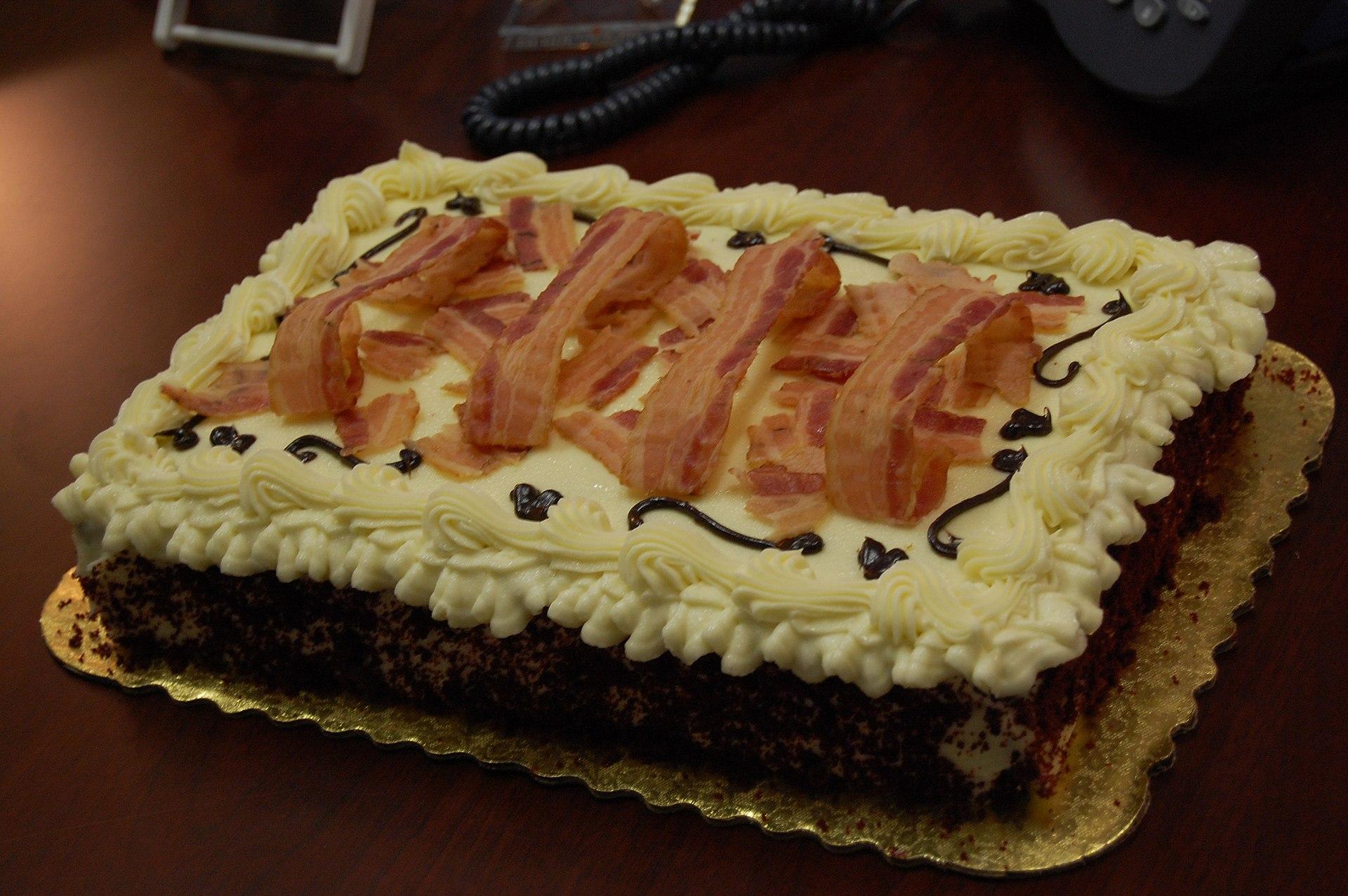 Chocolate Bacon Cake Recipe