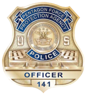 United States Pentagon Police - Image: Badge of the United States Pentagon Police