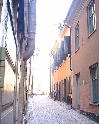 Baggensgatan - Image: Baggensgatan 25 070329