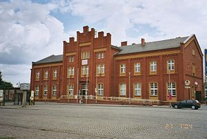 Rathenow railway station - Rathenow railway station