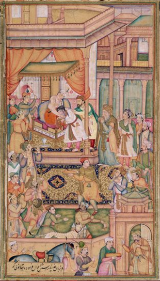Bairam Khan - The submission of Bairam Khan, 1560.