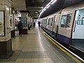 Baker Street stn Metropolitan bay platform 4 look north.JPG