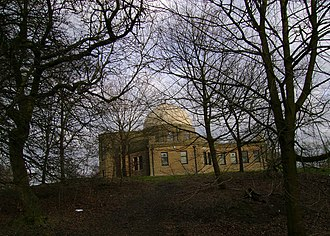 Mills Observatory - Mills Observatory in Balgay Hill