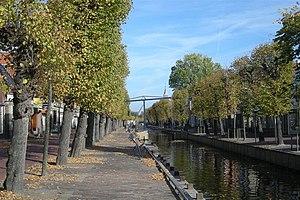 Balk, Netherlands - The river Luts in Balk