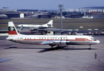 Balkan Bulgarian Airlines Il-18V LZ-BEL LBG August 1974.png