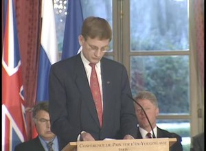 File:Balkan Peace Agreement Signing (1995) Clinton Library.webm
