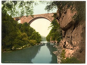 Glasgow, Paisley, Kilmarnock and Ayr Railway - Ballochmyle Viaduct