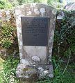 Ballyhennan Old Cemetery, Tarbet. Memorial to accidentally killed railway workers.jpg
