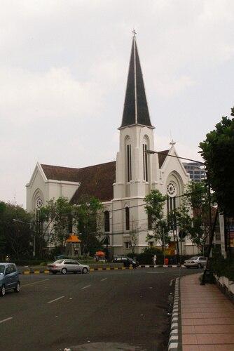 Bandung Cathedral Indonesia