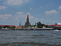 Bangkok along the Chao Phraya and Wat Arun (14881617350).jpg