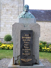 monument to Jean Bourhis