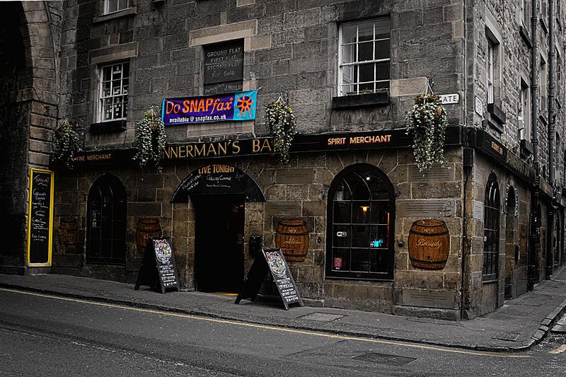 Vida noturna de Edimburgo