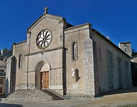 Banon - église Saint Just 2.JPG