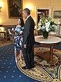 Barack Obama and Sana Amanat at 2016 WHM.jpg