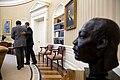Barack Obama meets with Dr. Clarence B. Jones, Visiting Professor at the University of San Francisco, 2015.jpg
