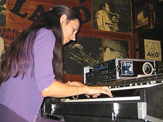 Jazz in Germany - Barbara Dennerlein began her career in the 1980s