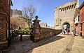 Barbican To Lewes Castle And Walls To South 2018 01.jpg