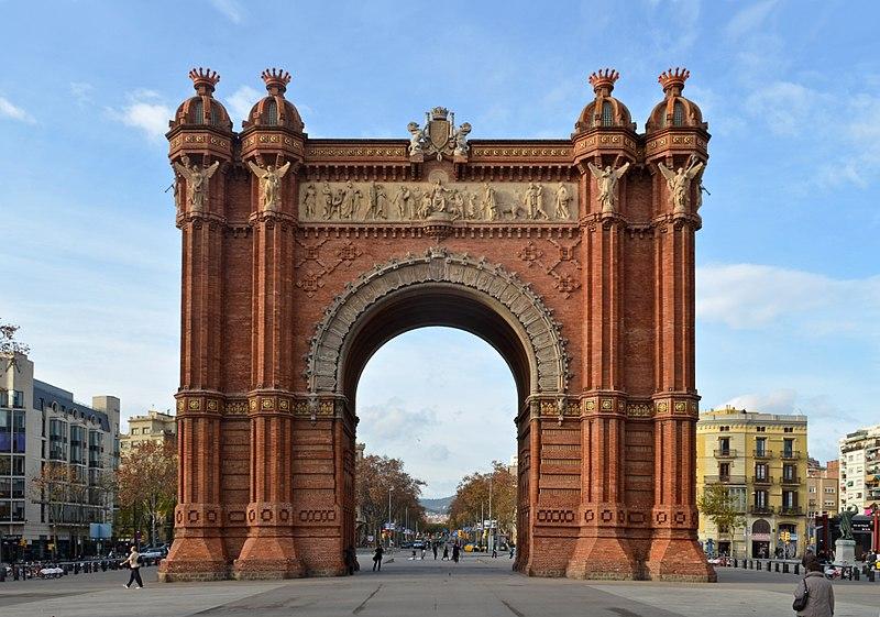 Barcelona - Arc de Triomf (2).JPG