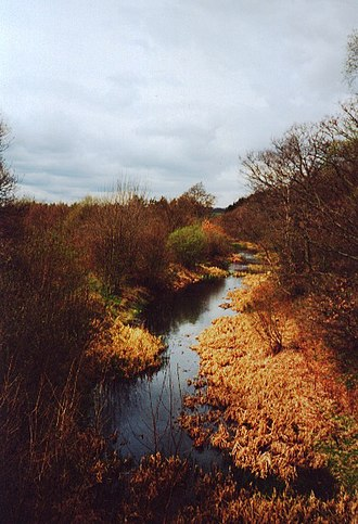 Barnsley Canal - The canal in Haw Park Woods near Wakefield