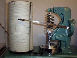 Barograph - Three-day barograph of the type used by the Meteorological Service of Canada