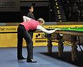 Barry Hawkins and Michaela Tabb at Snooker German Masters (DerHexer) 2013-02-02 2.jpg