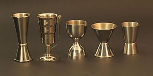 Shot glass - Variety of jiggers