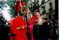 Basile Pachkoff costumé en Pantruche et Alain Riou costumé en Buffalo Bill au Carnaval de Paris 1999.jpg