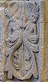Basilique Saint-Sauveur de Dinan (Côtes d'Armor), chapelle axiale, panneau renaissance, personnages affrontés.jpg