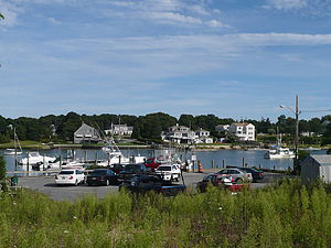 Dennis, Massachusetts - West Dennis on the bank of the Bass River