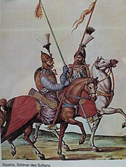 Sipahis were the elite cavalry knights of the Ottoman Empire