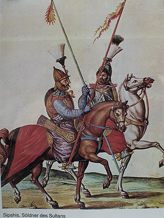 Ottoman Army (15th-19th centuries) - Sipahis at the Battle of Vienna in 1683