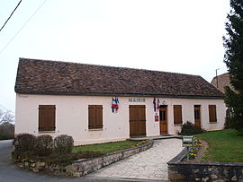 The town hall in Bazoches-sur-le-Betz