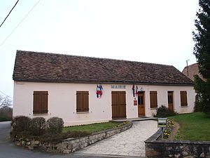 Bazoches-sur-le-Betz - The town hall in Bazoches-sur-le-Betz