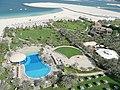Beach from Le Royal Méridien Beach Resort and Spa in Dubai.jpg