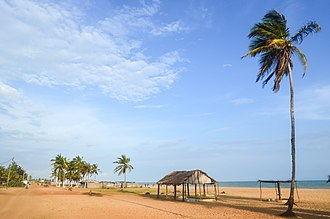 Atlantique Department - A beach in the region