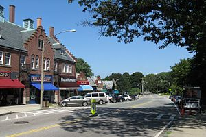 Waban, Massachusetts - Beacon Street