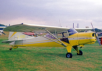 Beagle Husky - Husky of Airviews Ltd, Manchester, in 1971, fitted for banner towing and photography